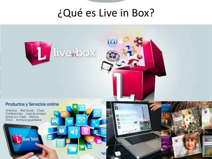 Qu es live in box