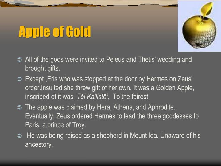 Apple of Gold