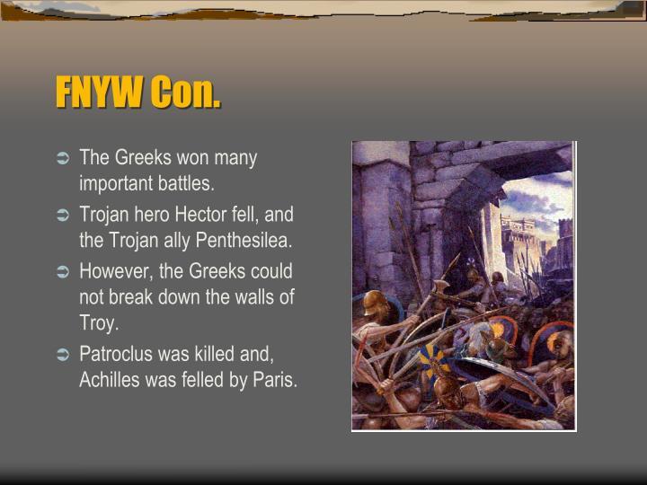 FNYW Con.