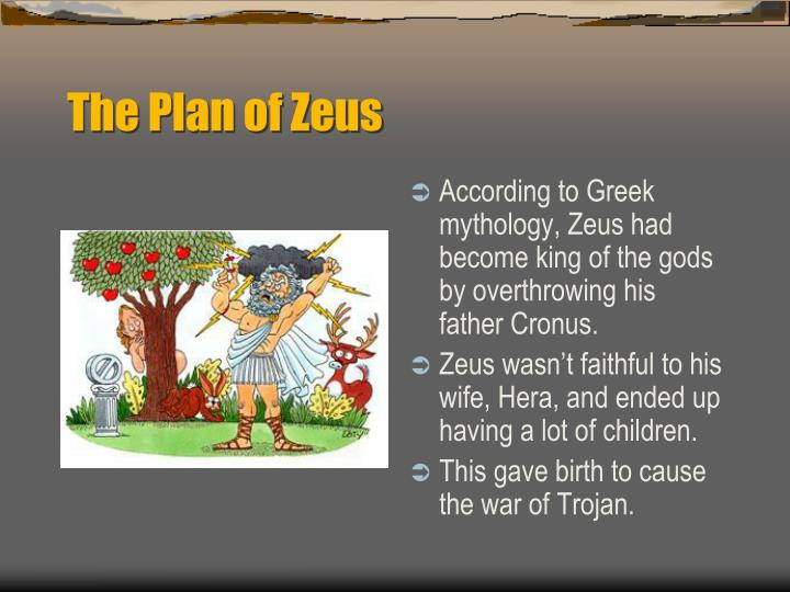 The Plan of Zeus