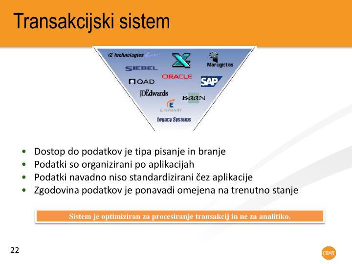 Transakcijski sistem