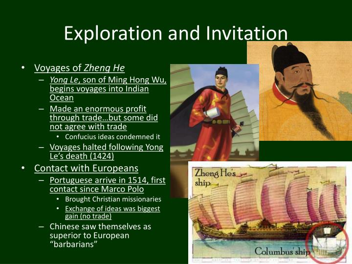 Exploration and Invitation