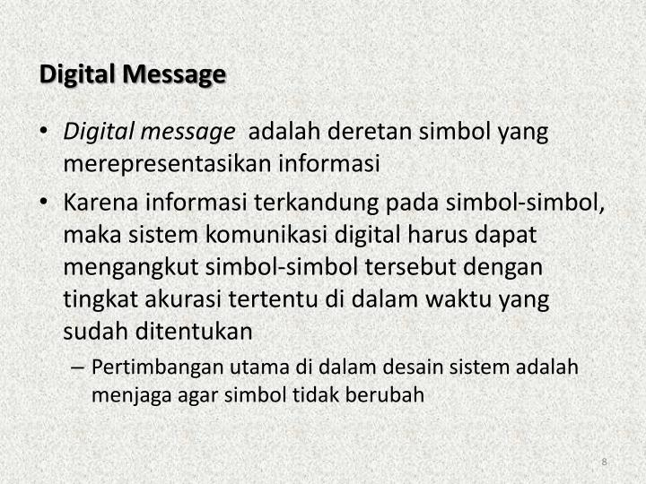 Digital Message
