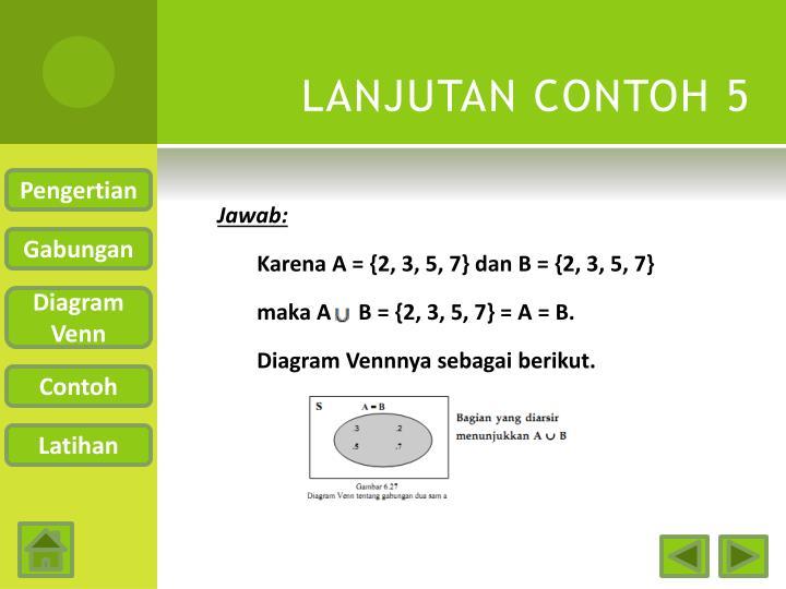 LANJUTAN CONTOH 5