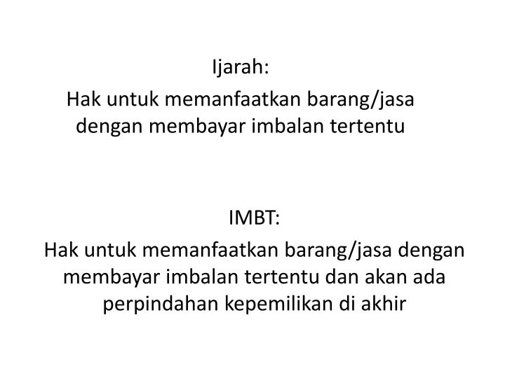 IMBT: