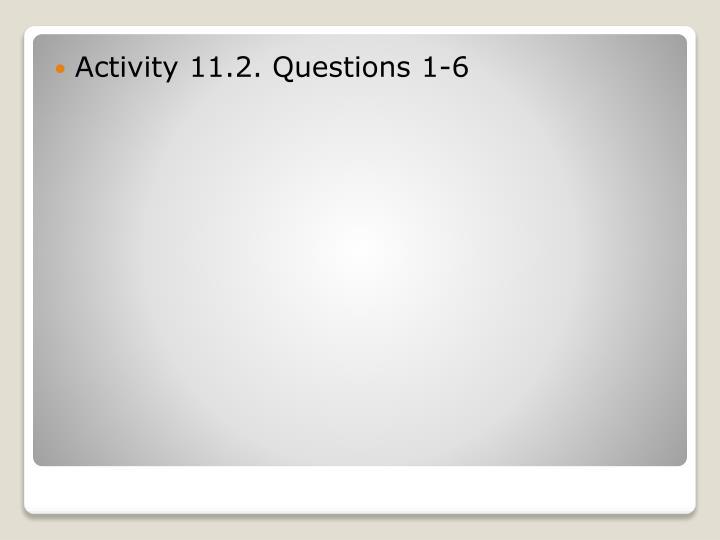 Activity 11.2.