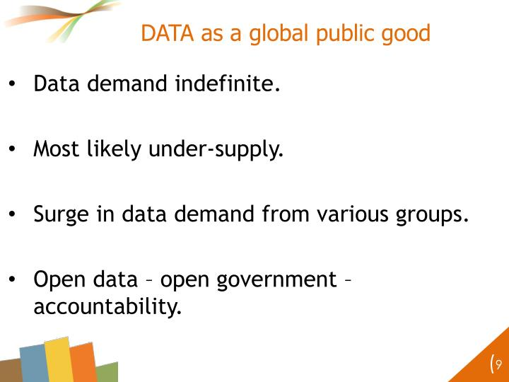DATA as a global public good