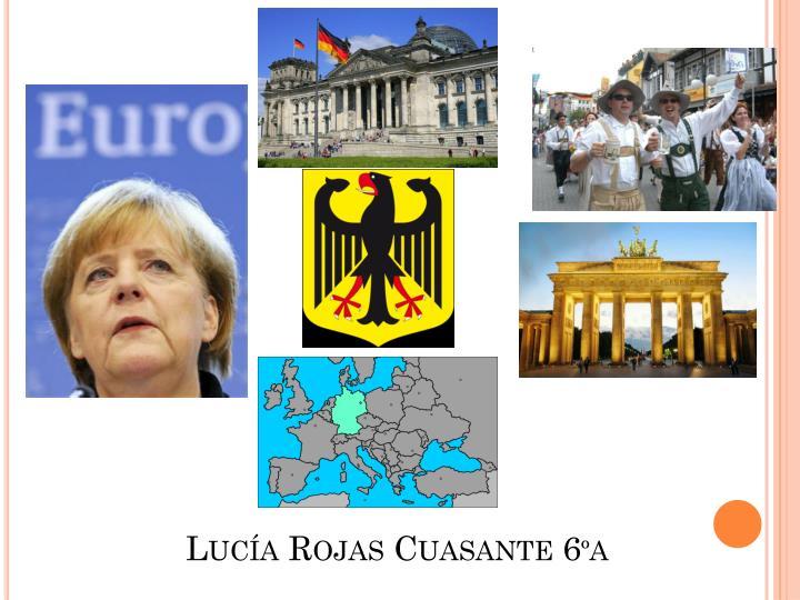 Lucía Rojas Cuasante 6ºa