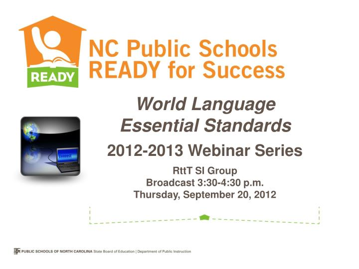 World Language Essential Standards