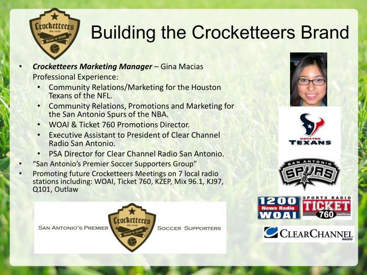 Building the Crocketteers Brand