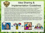 idea sharing implementation guidelines2