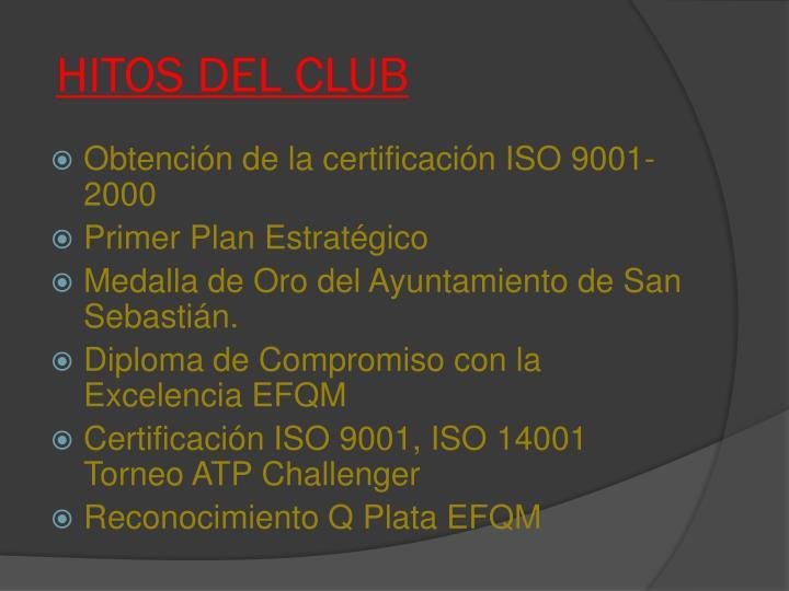 HITOS DEL CLUB