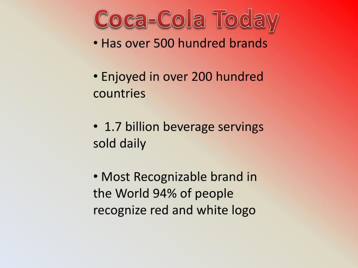 Coca-Cola Today