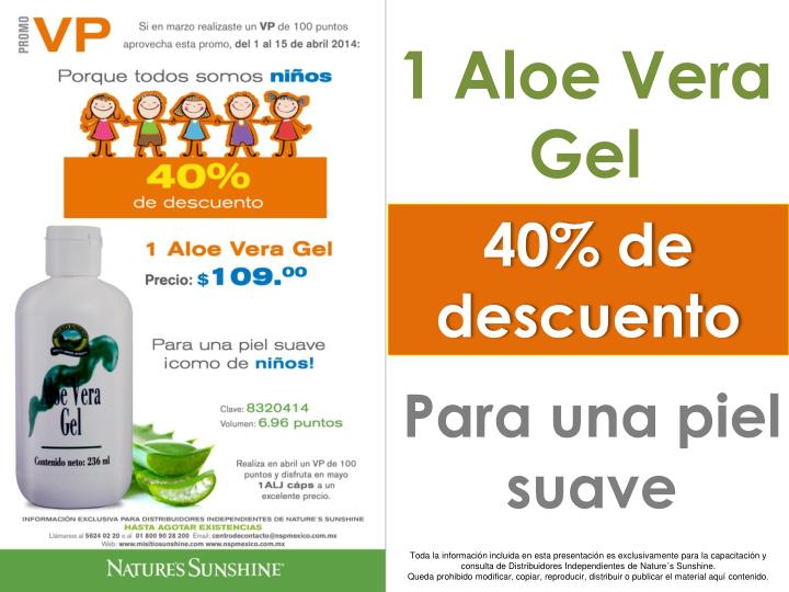 1 Aloe Vera Gel
