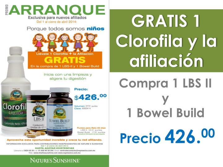 GRATIS 1 Clorofila y la afiliación