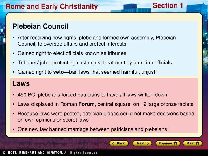 Plebeian Council