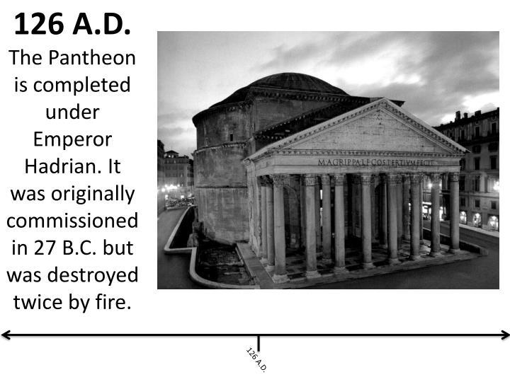 126 A.D.