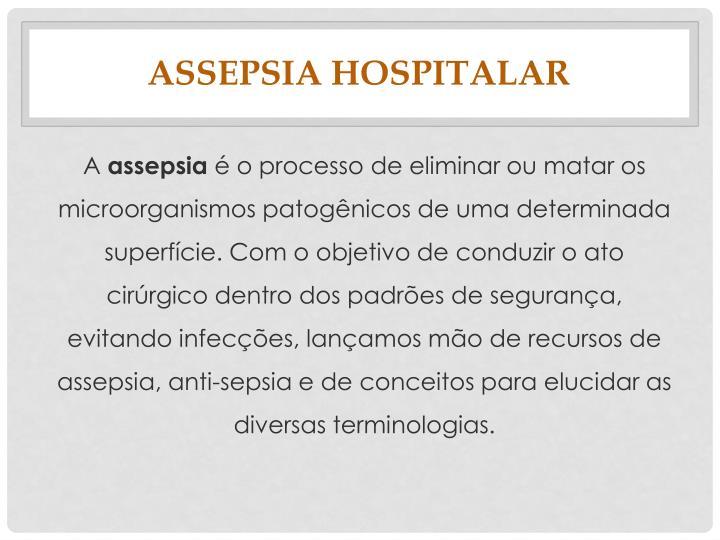 Assepsia