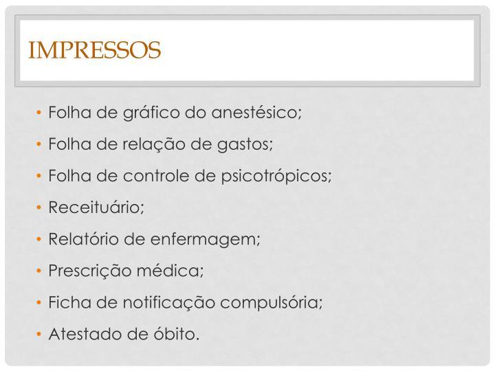 Impressos