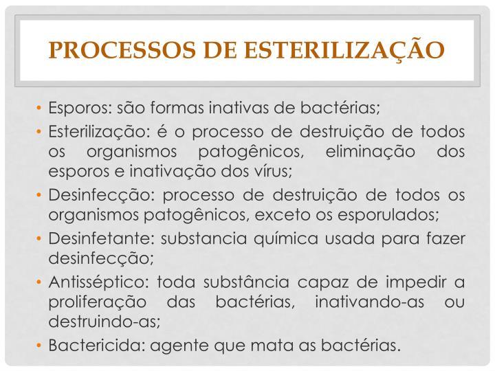 PROCESSOS DE
