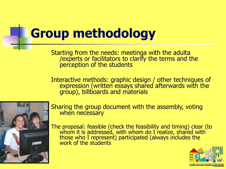 Group methodology