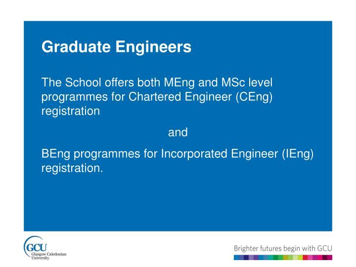 Graduate Engineers