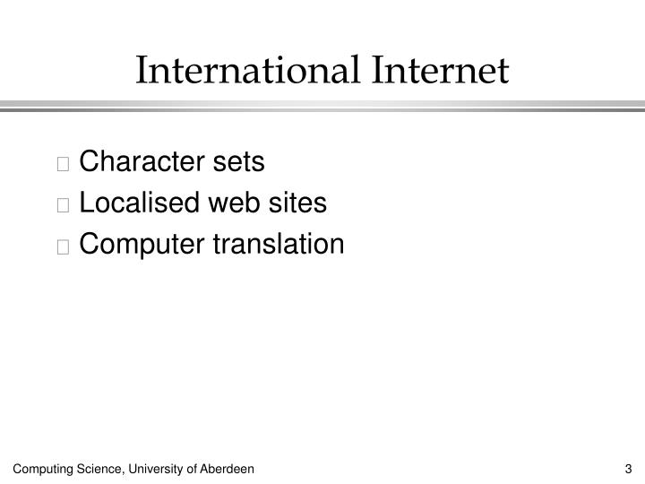 International Internet