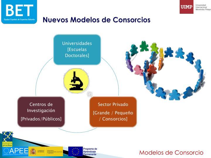Nuevos Modelos de Consorcios
