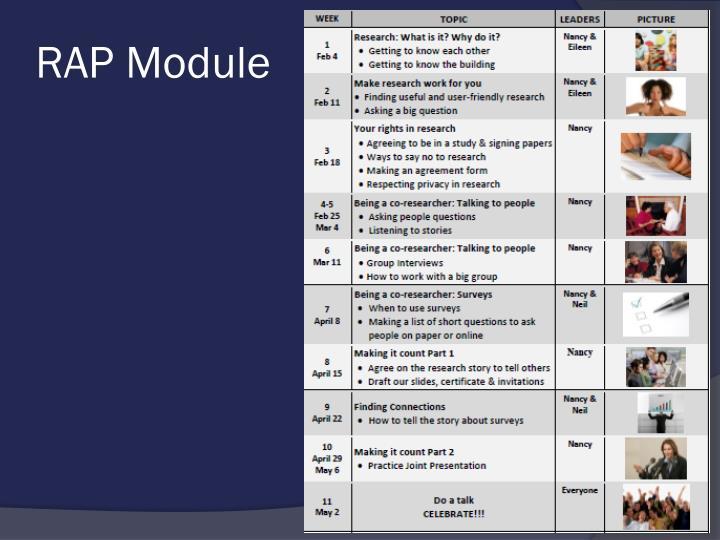 RAP Module