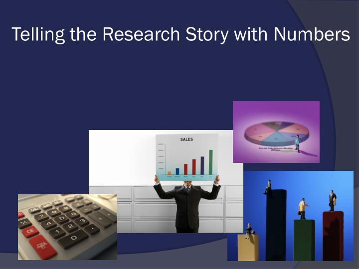 Telling the Research Story with