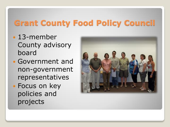 13-member County advisory board