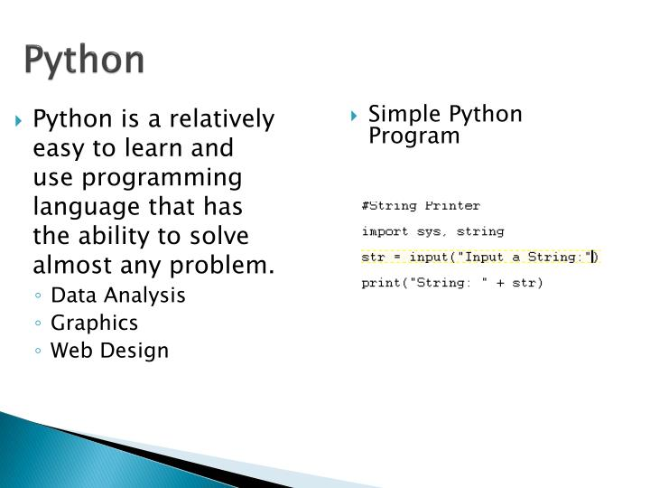 Simple Python Program