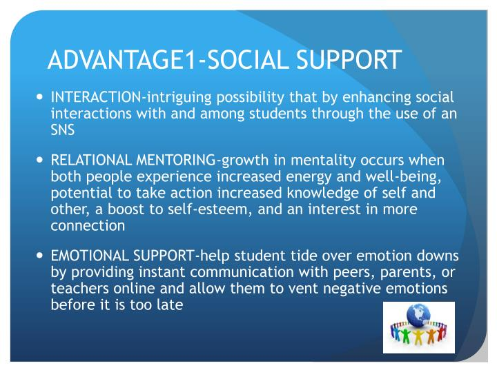 ADVANTAGE1-SOCIAL SUPPORT