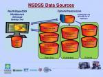 nsdss data sources