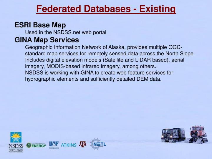 Federated Databases - Existing