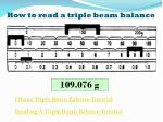 how to read a triple beam balance1