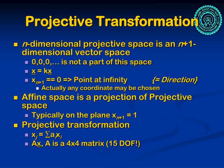 Projective Transformation