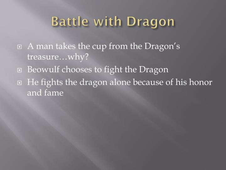 Battle with dragon