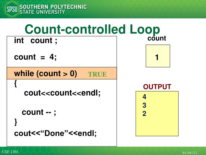 Count-controlled Loop