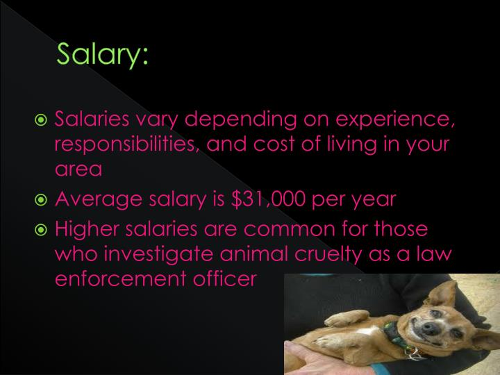 Salary: