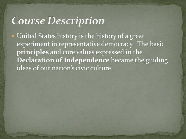 a history of the democratic government in the united states Democratic party: democratic party, one of the two major political parties, alongside the republican party, in the united states the democratic party underwent a dramatic ideological change.