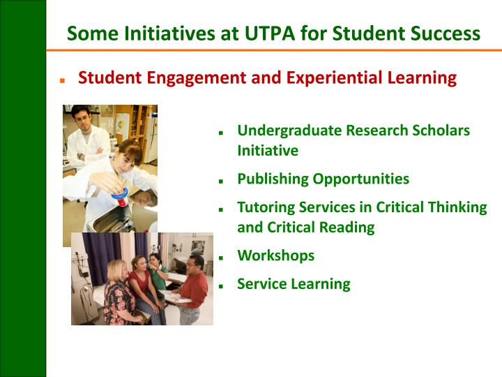 Student Engagement and Experiential Learning