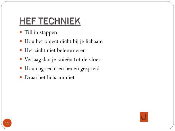 HEF TECHNIEK
