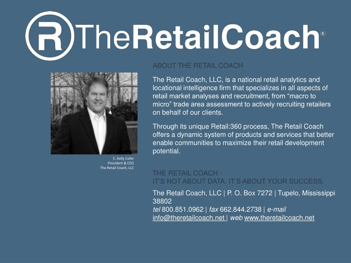 ABOUT THE RETAIL COACH