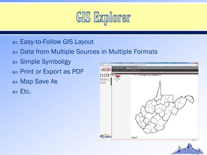 GIS Explorer