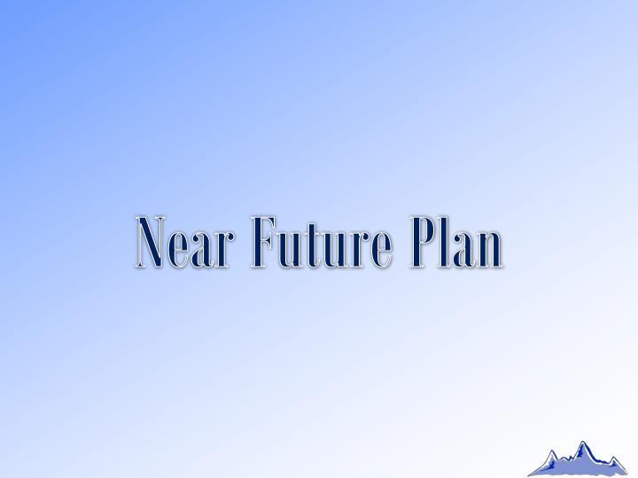 Near Future Plan
