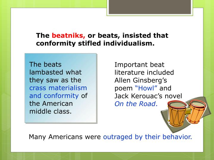 The beats lambasted what they saw as the