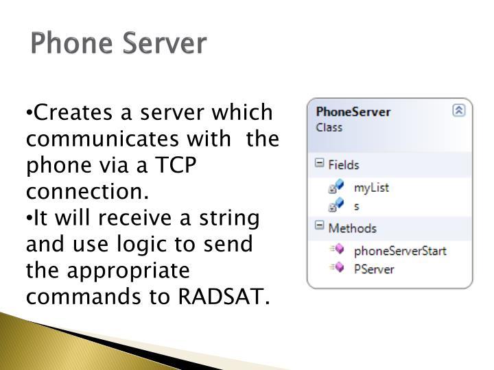 Phone Server