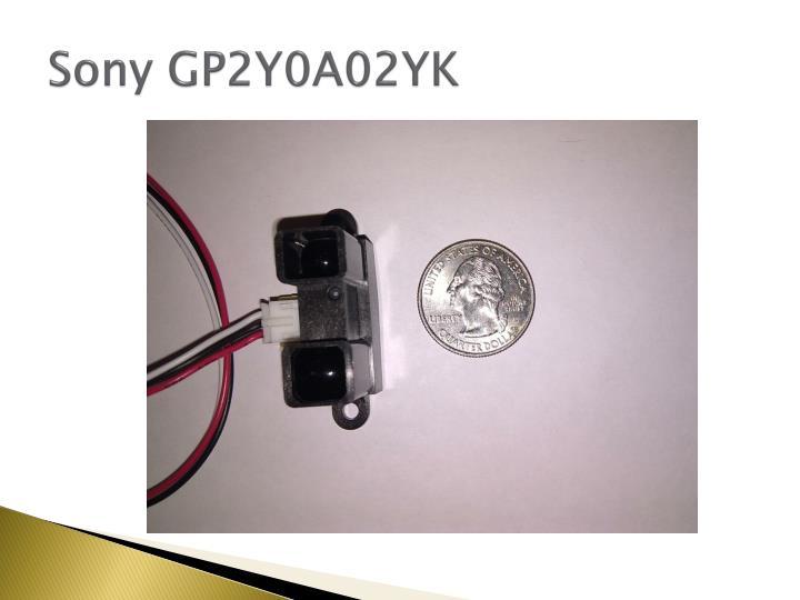 Sony GP2Y0A02YK