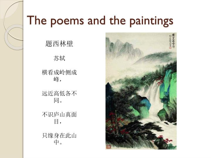 The poems and